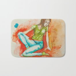 Mujer de Agua Bath Mat
