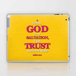 TRUST and not be afraid Laptop & iPad Skin