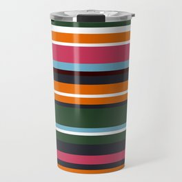 Minimal Art Lines 5 Travel Mug