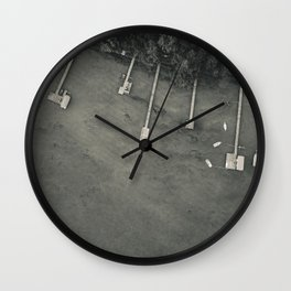 Dock From Above Wall Clock
