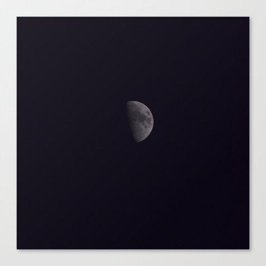 Half-Moon Canvas Print