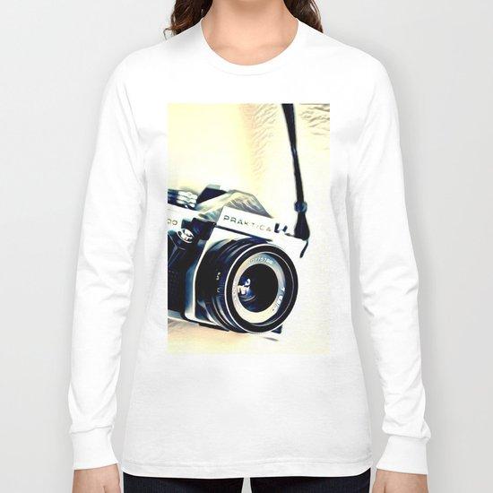 Classic Camera (Hipster) Long Sleeve T-shirt