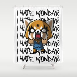 I hate the mondays Shower Curtain