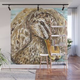 Duck bird Wall Mural