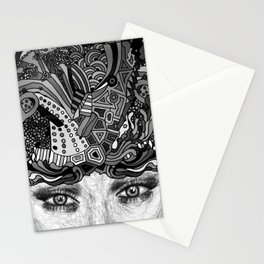 Courage Monotone Stationery Cards