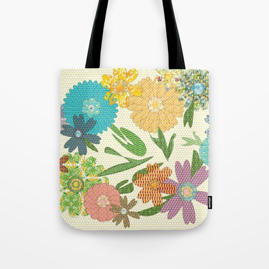 Flower Gardens Tote Bag