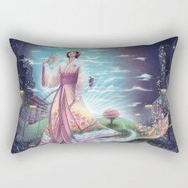 Uzume no Mikoto - By Lunart Rectangular Pillow