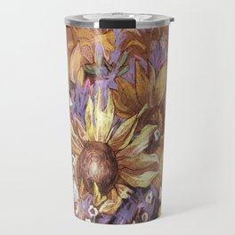Sunflower coctail Travel Mug