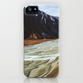Glacier Runoff iPhone Case