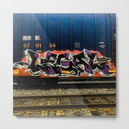 Legal Graffiti Metal Print