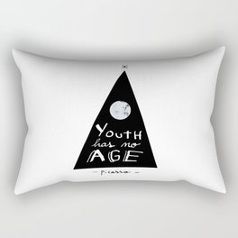"""""""Youth has no age"""" - Picasso Rectangular Pillow"""