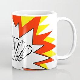 Comic with the write Kapow!! - Vector Coffee Mug