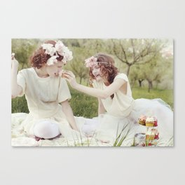 Let Her Eat Cake Canvas Print
