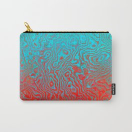 Aqua Red Carry-All Pouch