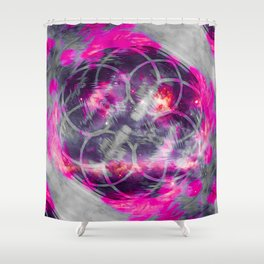 iDeal - Pink Fog Shower Curtain