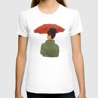 umbrella T-shirts featuring Umbrella by Eveline