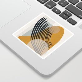Abstract Shapes 33 Sticker