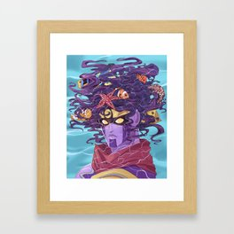Star Fishes Framed Art Print