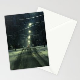 Stormy Winter Stationery Cards