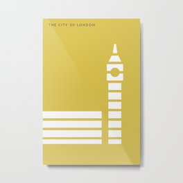 Iconic London: Palace of Westminster Metal Print