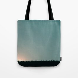 Blue skies are coming Tote Bag