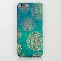 ROYAL FLOWERS ( GREEN ) - for iphone Slim Case iPhone 6s