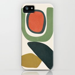 Abstract Shapes 32 iPhone Case
