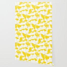 Light Yellow Poppies Spring Summer Mood #decor #society6 #buyart Wallpaper