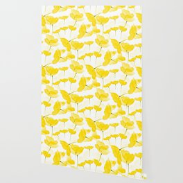 Light Yellow Poppies Spring Summer Mood #decor #society6 #buyart Wallpaper