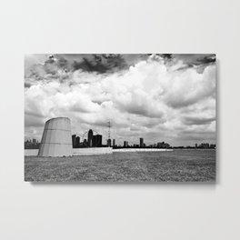 Marina Barrage 22 Metal Print