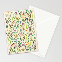 Colours from the garden Stationery Cards