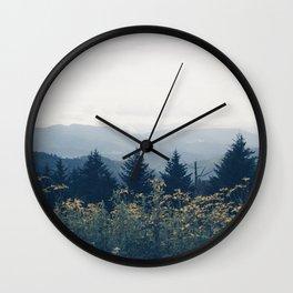 the mountain air Wall Clock