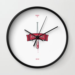 Beat on the brat Wall Clock