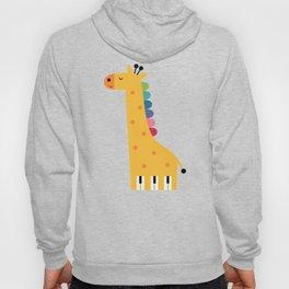 Giraffe Piano Hoody