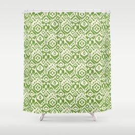 lezat green Shower Curtain
