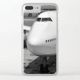 Aviation - II Clear iPhone Case