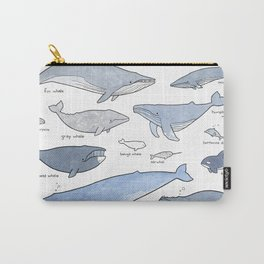 Whales Dolphins & Porpoises Carry-All Pouch