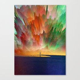 One Of Those Days Canvas Print