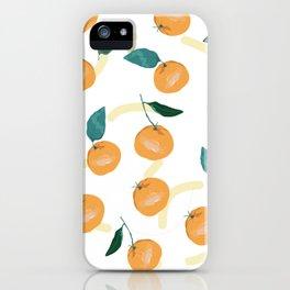 Mandarinas de Invierno iPhone Case