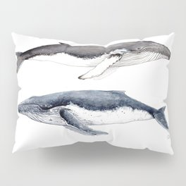 Humpback whales Pillow Sham