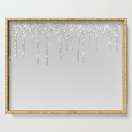 Icicles Serving Tray