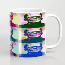 Frankenstein Pop Art Coffee Mug