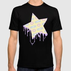 BANDAID Mens Fitted Tee SMALL Black
