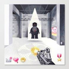 Target Practice Canvas Print