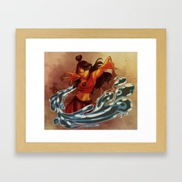Fire Nation Katara Framed Art Print