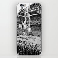 seahawks iPhone & iPod Skins featuring Seattle Seahawks, CenturyLink Field by SefoG