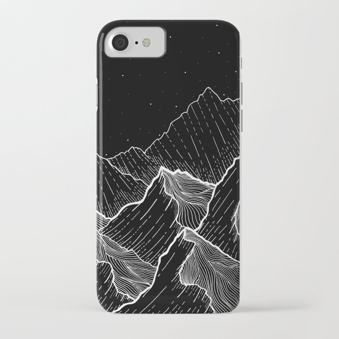 sea mountains iphone case