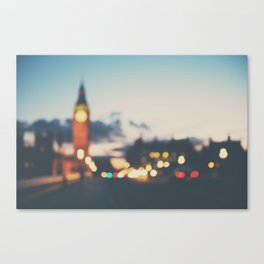london lights Canvas Print
