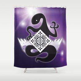 Akuma Homura / Devil's kiss Shower Curtain