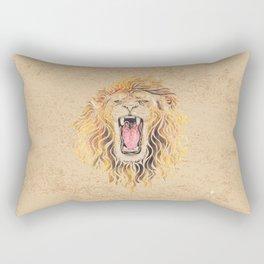 Swirly Lion Rectangular Pillow